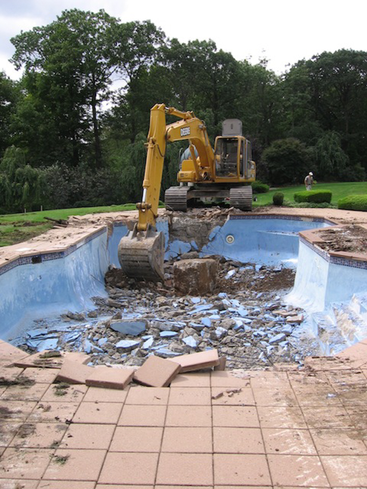 Underground Swimming Pool Designs bergen county nj inground swimming pool design installation traditional pool Kinnelon Nj Fiber Optic Negative Edge Pool Landscape Design Construction