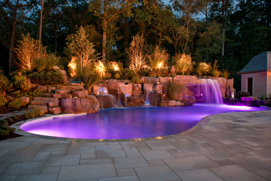 Swimming Pools With Grottos natural-outdoor-swimming-pool-spa-grotto-design-nj | cipriano