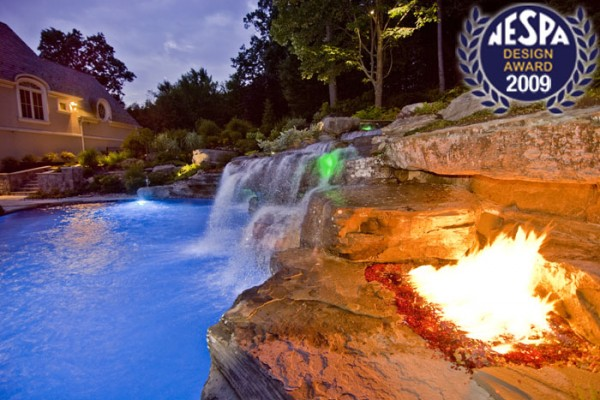 natural pool natural swimming pool 600x400 Award Winning Pools & Landscaping