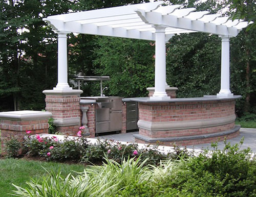 Outdoor Kitchen & Bar Design Saddle River NJ