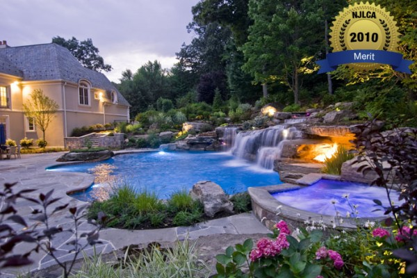 pool construction swimming pool design pool construction 600x400 Award Winning Pools & Landscaping
