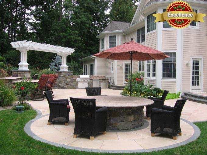Award winning pool landscaping 2013 best design winner for Award winning patio designs