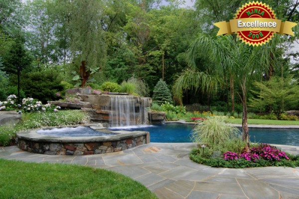 swimming pool landscaping pool 600x400 Award Winning Pools & Landscaping