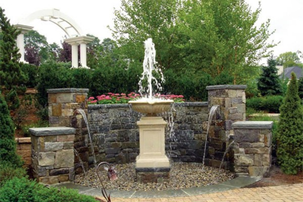 water features nj 9 600x400 Waterfall & Fountains