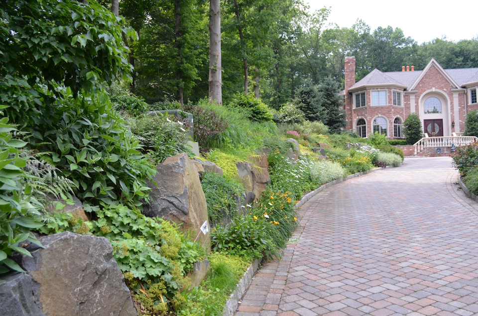 Beau Saddle River Nj Natural Landscape Design Front Yard Backyard 300x198 Saddle  River Nj Natural Landscape Design