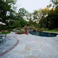 patio design-using patterns to define spaces-bergen county nj - Pool Patio Designs