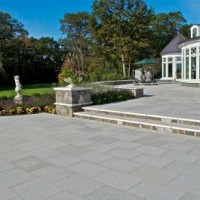 Natural Stone Outdoor Patio Design Wet Vs Dry Laid