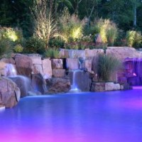 01397676374ing Pool Waterfall lighting Design Bergen County NJ 2 200x200 HOW TO AVOID DREADFUL POOL WATERFALL DESIGNS   BERGEN COUNTY NJ
