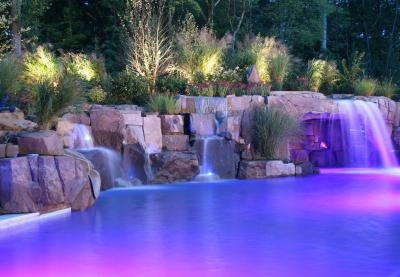 2013 top 50 pool builder cipriano landscape design shares top trade secrets tips to avoid ugly looking swimming pool waterfalls - Swimming Pools With Waterfalls