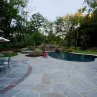 01399888693ular Grey Tennessee Crab Orchard Pool Patio Design and Installation Bergen County Northern NJ 2 200x200 NATURAL POOLS   IRREGULAR STONE PATIO DESIGN AND INSTALLATION