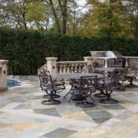 11399665827gian Buff Terraced Patio With Limestone Inlay Design Installation NJ 2 200x200 HAVE AN OLD DECK? TERRACED PATIOS OFFER STYLE & A GREAT ROI   BERGEN COUNT NJ
