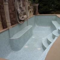 21393935517ing Pool Design with Custom Glass Tile Finish 2 200x200 TOP SWIMMING POOL DESIGN TRENDS FOR 2014 PART 1   BY CIPRIANO