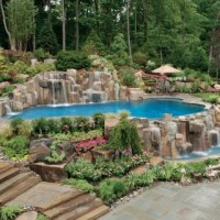 21401966705ing pool waterfall design nj 2 200x200 WHY ADD WATERFALLS TO YOUR SWIMMING POOL DESIGN?
