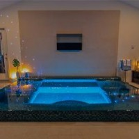 41393935517ing Pool and Spa Designs with Glass Tile Finish 2 200x200 TOP SWIMMING POOL DESIGN TRENDS FOR 2014 PART 1   BY CIPRIANO