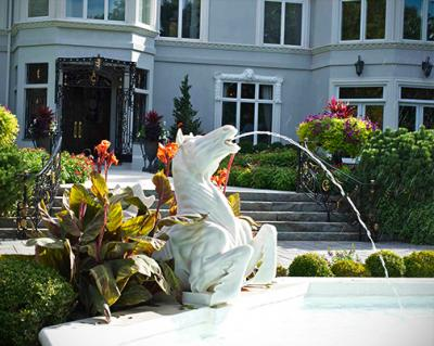 horse fountain 2 OUTDOOR FOUNTAIN MAINTENANCE   NJ LANDSCAPE DESIGN FIRM