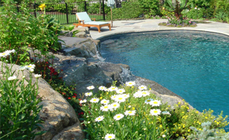 Beautiful landscaping gardens cipriano landscape design nj - American swimming pool and spa association ...